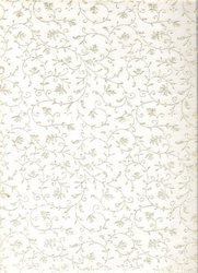 Non Woven Glitter Chiffon Printed Papers for Wedding Cards