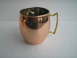 Solid copper Moscow Mule Copper Mug Smooth 16 Oz