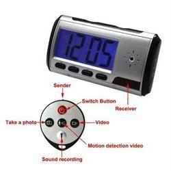 Spy Digital Clock With 10 Hours Battery Backup