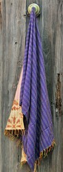 Vintage Hand Crafted Silk Stole