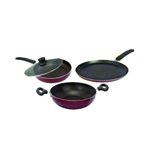Kitchen Non Stick Set: Induction Bottom Non-Stick Cookwares