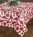 Azalea Flower Print Table Cloth