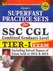 SSC CGL Tier I Superfast Practice Sets