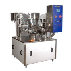 Rotary Cup Filling & Sealing Machine