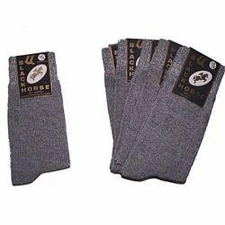 Lycra Cotton Dual Colour Socks