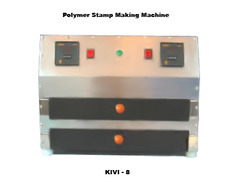 rubber stamp machine kivi 8 nylon polymer machine