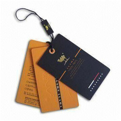 Hang Tags Manufacturer from New Delhi