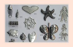 Decorative Metal Charm