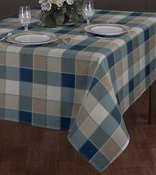 Alluring Checked Table Cloth