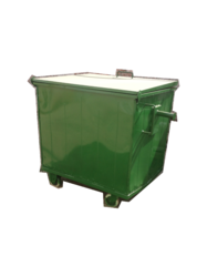 industrial ms dust bin