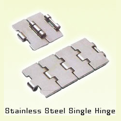 ss slat chain single hinge