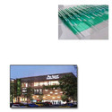 FRP Transparent Sheet for Shopping Malls
