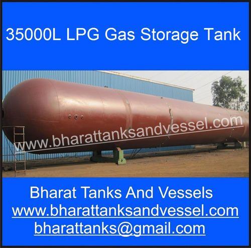 35000L LPG Gas Storage Tank