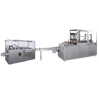 Combined Packing Line with Automatic Carton Machine and Over Wrapping Machine