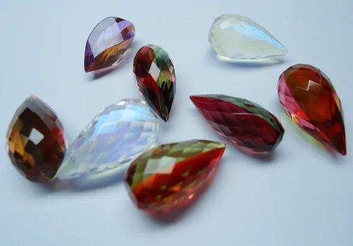 Doublet Quartz Drops Stone