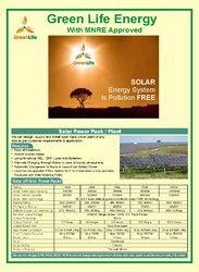 solar power pack plant