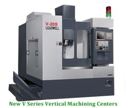 New V Series Vertical Machining Centers