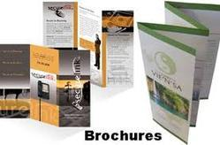 Multicolor Printed Brochures Folded