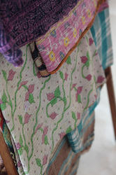 Old Handmade Kantha Quilts