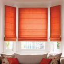 Motorized Roman Blinds