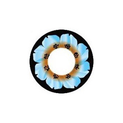 Marine Flower Color Contact Lens