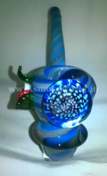 Glass Sherlock Smoking Pipe