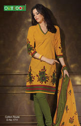 Printed Cotton Suit -Cotton Route