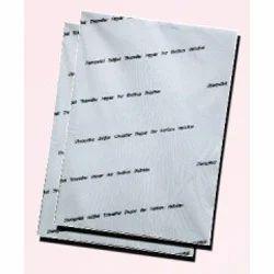 Cotton fibre paper