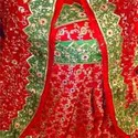 Red Green Bridal Gharara