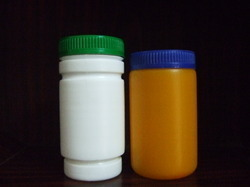 Plastic Container For Herbal Powders