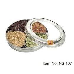 Stainless Steel Designer Dry Fruit Box