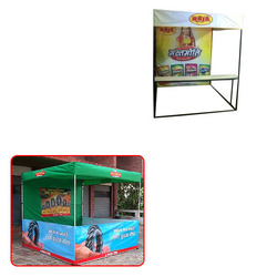Table Type Demo Tent for Advertisement