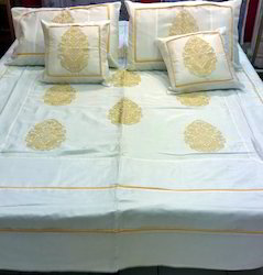 Silk Bed Cover Set