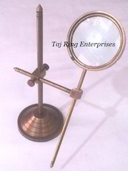 Antique Magnifying With Stand