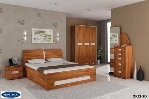 Bedroom sets orchid bedroom set manufacturer from rajkot for Bedroom designs sri lanka