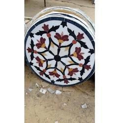Makrana Marble Chakra Table Tops