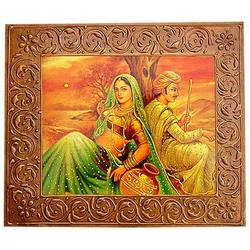 Wooden Embossed Painting