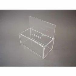 Acrylic Collection Box