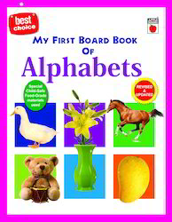 My First Board Book Of Alphabets