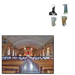 Acrylic Wooden Podium for Church