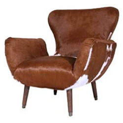 Hairon Leather Chair