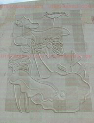Sand Stone Wall Mural for Elevation