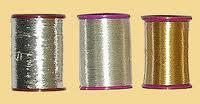 Imitation Zari Thread Halffine