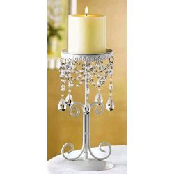 Bead Work Candle Holders
