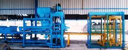 rbm 25 fly ash concrete brick making plant