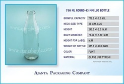 750 Ml Juice Bottle