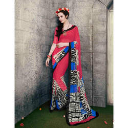 Fashionable Printed Sarees