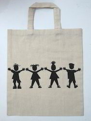 Cotton Bags With Human Picture