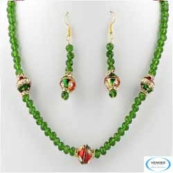 Party Wear Crystal Jewelry Set