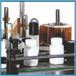 Automatic Wrap Around Sticker Label Applicator Machinery for Round Bottles